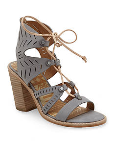 Dolce Vita Luci Tie Front Stacked Heels