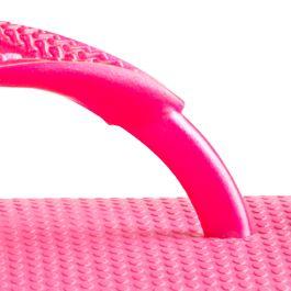 Cute Flat Sandals for Juniors: Shocking   Pink Havaianas Slim Flip Flop