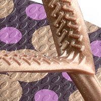 Thong Sandals for Women: Aubergine Havaianas Slim Fresh Flip Flop