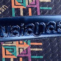 Thong Sandals for Women: Navy Blue Havaianas High Light II Flip Flop