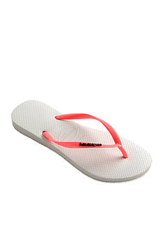 Havaianas Slim Logo Pop-Up Flip Flop