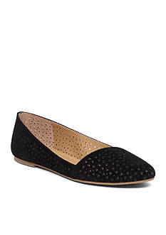 Lucky Brand Archh Perforated Flat