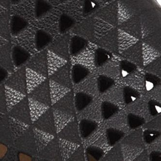 Lucky Brand Shoes: Black Lucky Brand Basel 3 Perforated Bootie