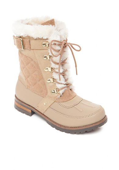 Rock and Candy by ZiGi Danlea Faux Fur Lined Duck Boot