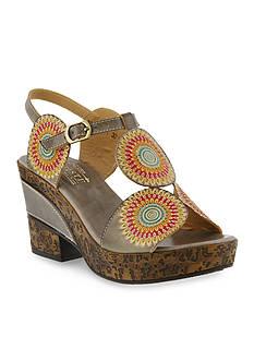 L`Artiste by Spring Step Hydrangea Sandal