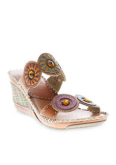 Spring Step Taffy Wedge Sandal