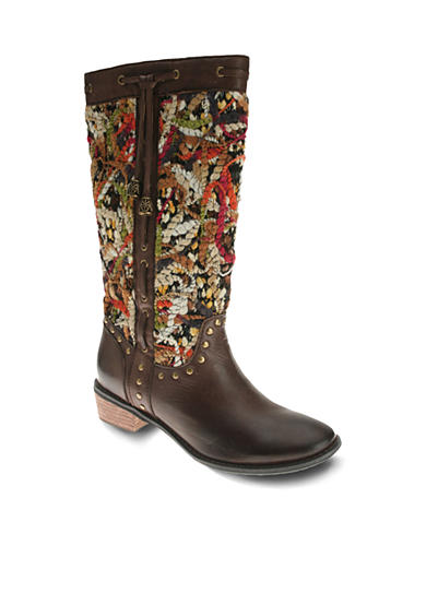 Spring Step Tapestry Boot