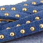 Tan/khaki High Heel Sandals for Women: Blue Spring Step Uribia Sandals