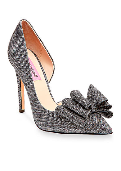 Betsey Johnson Prince Bow Pump