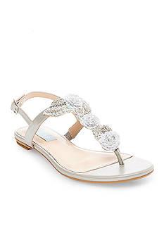 Betsey Johnson Camil Embellished Flat Sandal