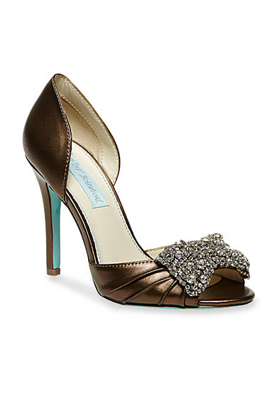 Betsey Johnson Gown Peep-Toe Pump