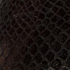Women's Shoes: Pointed Toe: Black Snake Orthaheel Caballo Flat