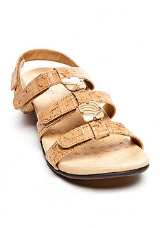 Vionic with Orthaheel Technology Amber Sandal