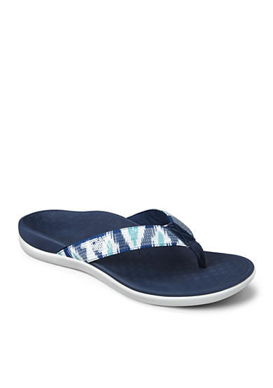 Vionic® with Orthaheel® Technology Tide Sequins Flip Flop Sandal