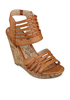 Pink & Pepper Empress Wedge Sandal