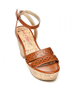 Pink & Pepper Pharroh3 Wedge Sandal