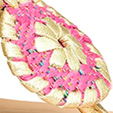 Designer Sandals for Women: Bright Pink Jack Rogers Inez Wedge