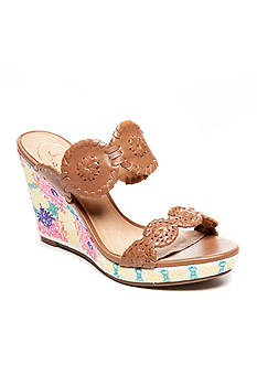 Jack Rogers Livvy Embroidered Wedge Sandal