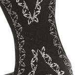 Flat Sandals for Women: Black Kensie Trina Gladiator Sandal