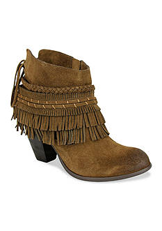 Naughty Monkey In-Lyne Heeled Fring Bootie