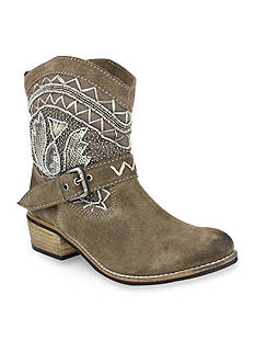 Naughty Monkey Deco Stitch Beaded Western Boots