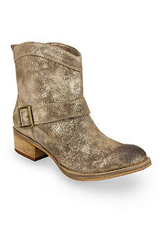 Naughty Monkey Metallic Booties