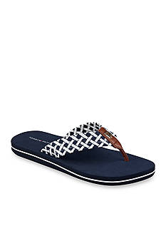Tommy Hilfiger Cerley Lattice Print Flip Flop