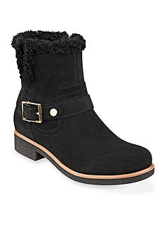 Tommy Hilfiger Drama Faux Shearling Bootie