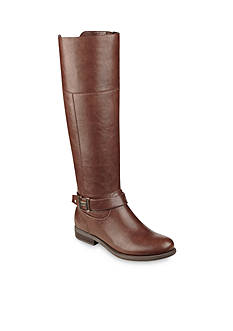 Tommy Hilfiger Shahar Riding Boot -Available in Wide Calf