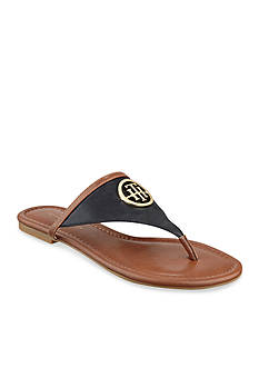 Tommy Hilfiger Steph Flat Thong Black