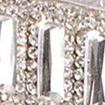Trendy Shoes: Sparkle & Shine: Silver Lauren Lorraine Ari Ankle Strap Heel