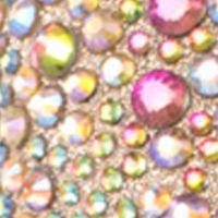 Womens Wedding Shoes: Gold Multi Lauren Lorraine Candy Peep-Toe Pump