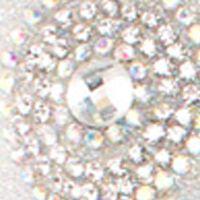 Womens Wedding Shoes: Silver Lauren Lorraine Elenor Peep-toe Pump