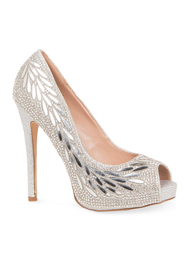 Lauren Lorraine Estelle Open Toe Pump