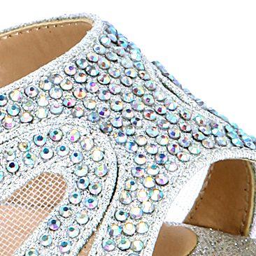 Junior Prom Shoes: Silver Lauren Lorraine Vinnie Sandal