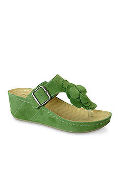 David Tate Spring Wedge Sandal