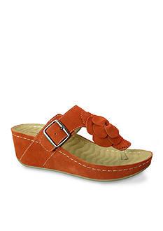 David Tate Spring Wedge Sandal