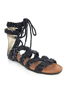Groove Footwear Talia Woven Flat Sandal