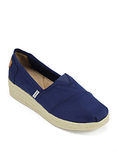 Joy & Mario Avila Stacked Wedge Espadrille