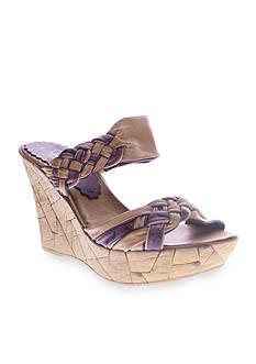 Azura Mania Wedge Slide Sandal