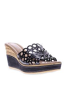 Azura Polidor Wedge Slide Sandal