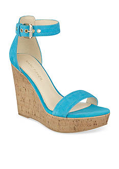 Marc Fisher Heart Cork Wedge Sandal