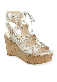 Marc Fisher Smarty2 Lace-Up Wedge Sandal