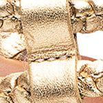 Shoes: Bernardo Women's: Old Gold Calk Bernardo Merit Woven Sandal