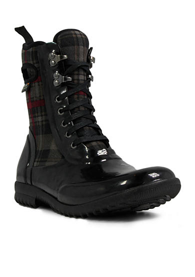 Bogs Sidney Lace Plaid Boot