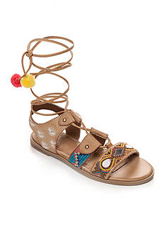 Sugar Faith Tribal Lace Up Sandal