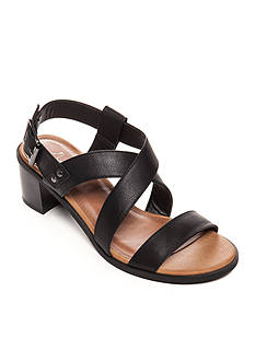 Sugar Halves Strappy Block Heel Sandals