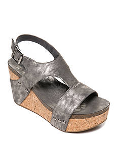 Sugar Junebug Overlasted Cork Wedge Sandal
