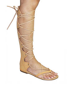 C. Label David Front Lace Sandal