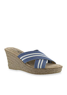 TUSCANY by easy street Malone Wedge Sandal